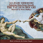 Allegri: Miserere;  Palestrina / Phillips, Tallis Scholars