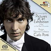 Mussorgsky: Pictures at an exhibition, Night on the Bare Mountain, etc / Ponti, et al