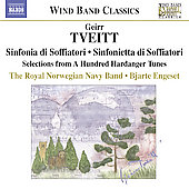 Wind Band Classics - Tveitt: Sinfonietta di soffiatori, etc / Engeset, Royal Norwegian Navy Band