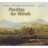 Krommer: Partitas for Winds / Amphion Wind Octet Basel