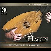 Hagen: Lute Sonatas / Schneiderman, Blumenstock, Skeen