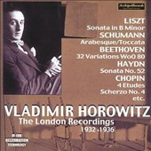 Vladimir Horowitz: The London Recordings, 1932 - 1936