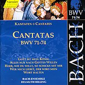 Bach: Cantatas, BWV 71-74