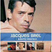 Jacques Brel: 4 CD Originals