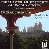 Dvor&aacute;k: Serenade, Quintet / Chamber Music Society