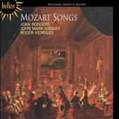 Mozart Songs / Joan Rodgers, John Mark Ainsley. Roger Vignoles