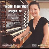 Modal Inspiration: Widor, Durufle, Barraine / Dongho Lee, Organ