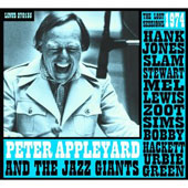 Peter Appleyard & The Jazz Giants: The  Lost 1974 Sessions