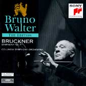 Bruno Walter Edition - Bruckner: Symphony no 7 / Columbia SO
