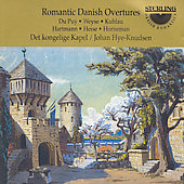 Romantic Danish Overtures - Du Puy, et al / Hye-Knudsen