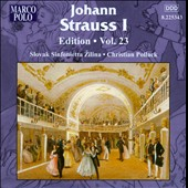 Johann Strauss Edition, Vol. 23 / Pollack, Slovak Sinfonietta Zilina