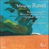 Ravel: Rapsodie Espagnole, Pavane pour une Infante Defunte, Daphnis & Chloe. London SO, Pierre Monteux