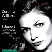 Schubert: Impromptus, D899 & D935 / Cordelia Williams: piano