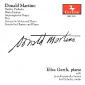 Martino: Piano and Chamber Works / Eliza Garth
