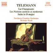Telemann: La Changeante, Les Nations, etc /Ward, Northern CO