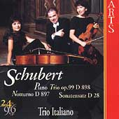 Schubert: Piano Trios vol 1 / Trio Italiano