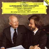 Lutoslawski: Piano Concerto, etc / Zimerman, Lutoslawski
