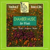 Brahms, Mozart, Beethoven: Chamber Music for Winds / George Silfies, clarinet