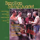 Villa-Lobos: Quartet no 16;  Brandao / Brazilian Quartet