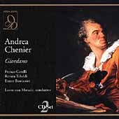 Giordano: Andrea Chenier / Matacic, Tebaldi, Corelli, et al