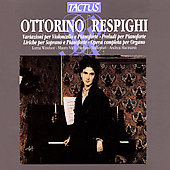 Respighi: Chamber & Keyboard Music / Windsor, Valli, et al
