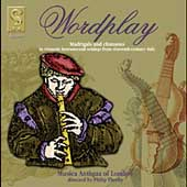 Wordplay - Madrigals and Chansons / Thorby, Musica Antiqua