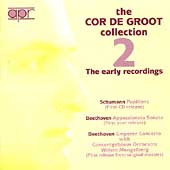 The Cor de Groot Collection Vol 2 - The Early Recordings