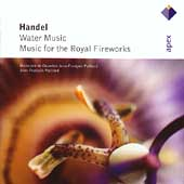 Handel: Water Music, Royal Fireworks Music / Paillard, et al