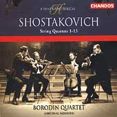 Historical - Shostakovich: String Quartets no 1-13 / Borodin