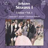 J. Strauss Sr. Edition Vol 1 / Pollack, Camerata Cassovia