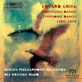Grieg: Norwegian Dances, Symphonic Dances, Lyric Suite /Ruud