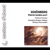 Schoenberg: Pierrot Lunaire / Herreweghe, Pousseur, et al
