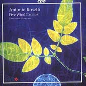 Rosetti: Five Wind Partitas / Consortium Classicum