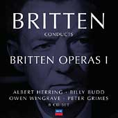 Britten Conducts Britten Operas Vol 1