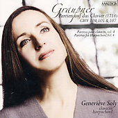 Graupner: Partitas for Harpsichord Vol 4 / Soly