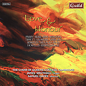 Love and Honour - Parry, Bliss, etc / Queen's College Choir