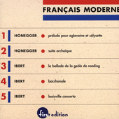 Fran&#231;ais Moderne Vol 1 - Honegger, Ibert / Mester, et al