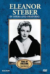 Voice of Firestone Series: Arias from Opera and Oratorio / Eleanor Steber, soprano [DVD]