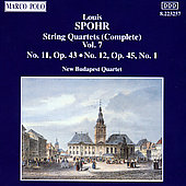 Spohr: String Quartets Vol. 7