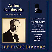 Chopin: Piano Concerto no 1; Liszt, etc / Rubinstein, et al