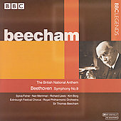 Beethoven: Symphony no 9 / Beecham, Fisher, et al