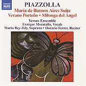 Piazzolla: Maria de Buenos Aires Suite, Verano porte&ntilde;o, etc
