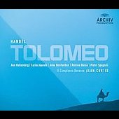 Handel: Tolomeo / Curtis, Hallenberg, Gauvin, Basso, et al