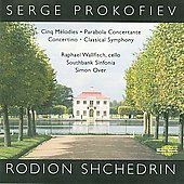 Prokofiev: Songs without Words, Op. 35;  Shchedrin / Wallfisch, Over, et al