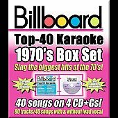 Sybersound: Billboard Top 40 Karaoke: 1970s [Box] [Box]