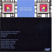 Child: Doubles, Duo, Dickinson Songs, Variations / Pinkas, Stepner, Chew, et al