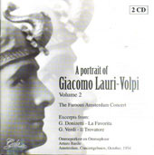 Portrait of Giamcomo Lauri Volpi vol 2