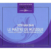 Le Maître de Musique [Original Movie Soundrack] [Limited Edition] / José van Dam