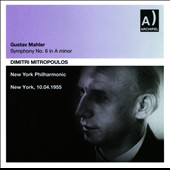 Mahler: Symphony No. 6 in A minor / New York PO, Mitropoulos (live, 1955)