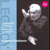 Tchaikovsky: Symphony No. 1; Stravinsky: Firebird Suite / Svetlanov